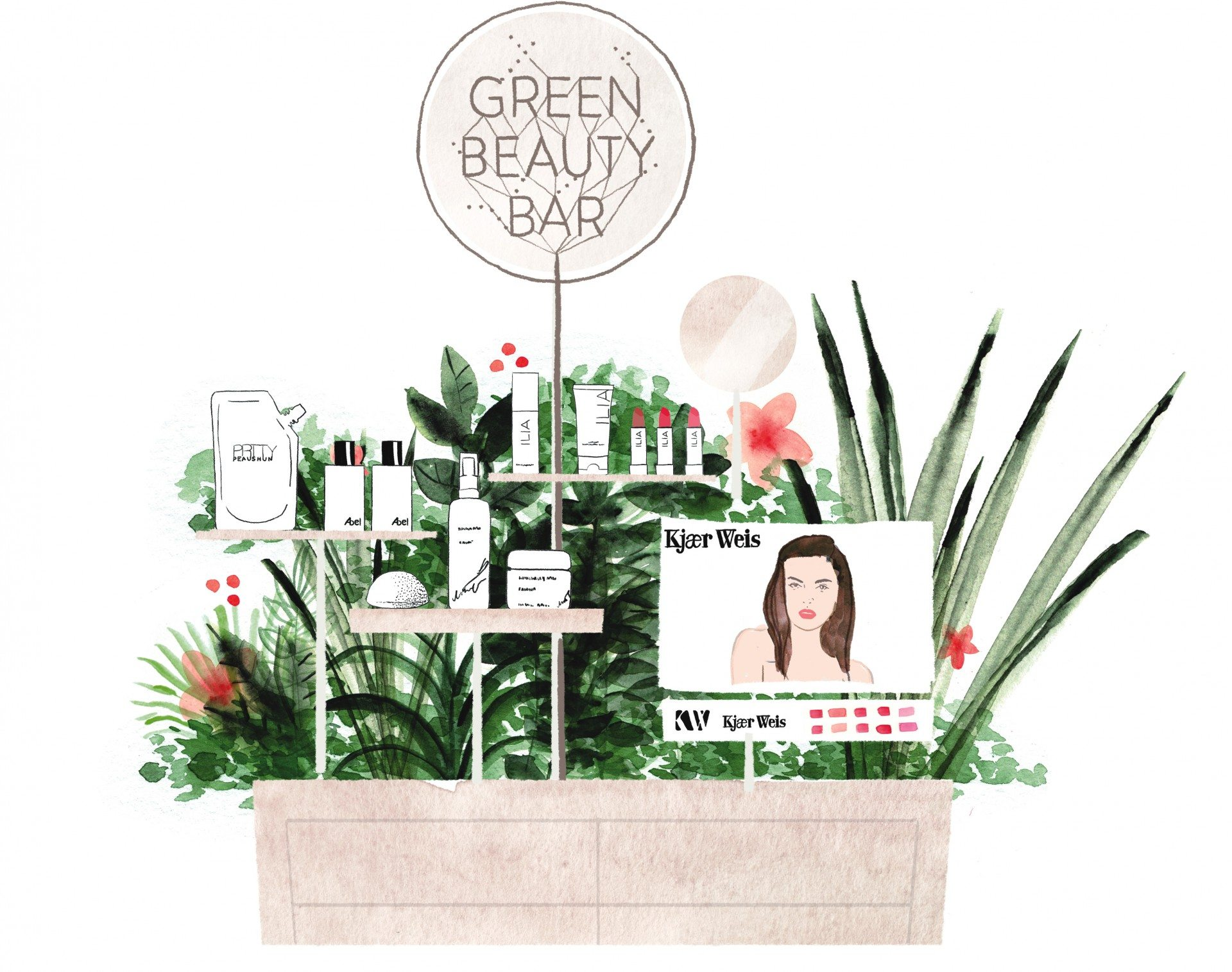 Green Beauty Bar - ORganic & Natural Cosmetics / Makeup
